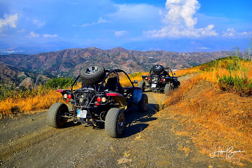 Panoramic Tour Buggy Malaga